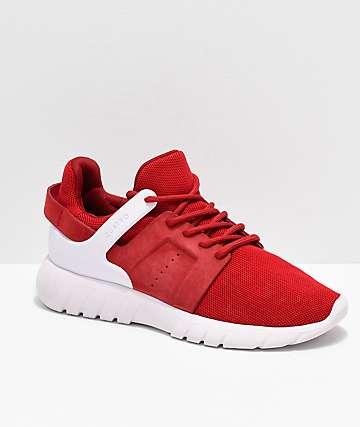 CU4TRO Stunner zapatos de punto rojo