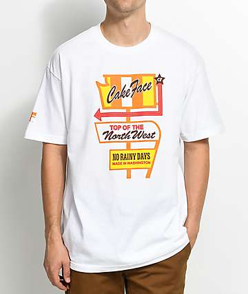 Cake Face NW Deluxe White T-Shirt