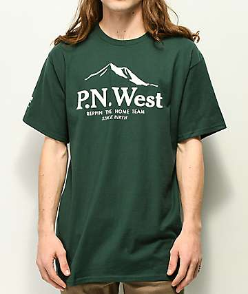 Cake Face PNW Since Birth Green T-Shirt