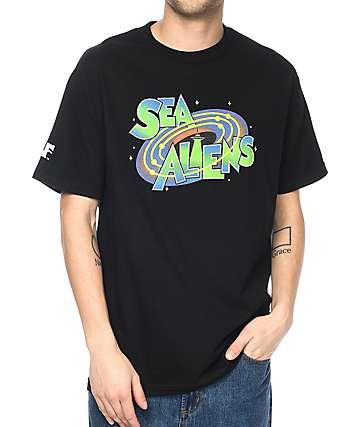 Cake Face Sea Jams camiseta negra