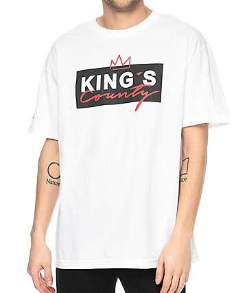 Cake Face Sea Kings County camiseta blanca