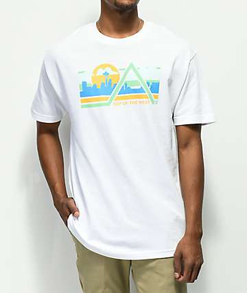 Cake Face Top World White T-Shirt