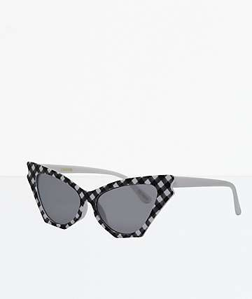 Camden Gingham Sunglasses