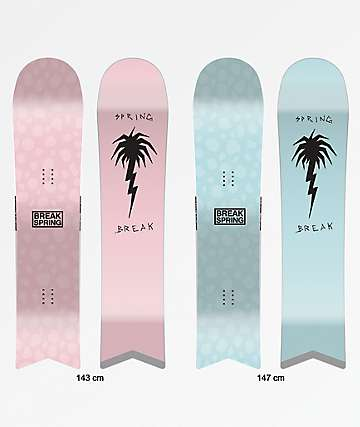 Capita Spring Break Slush Slasher Snowboard 2019