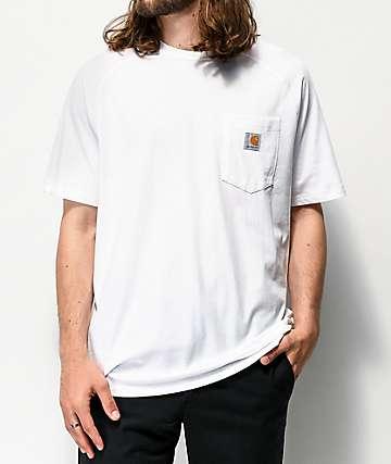 Carhartt Force White Pocket T-Shirt