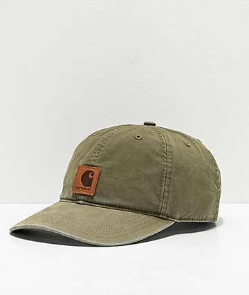 Carhartt Odessa Army Green Strapback Hat