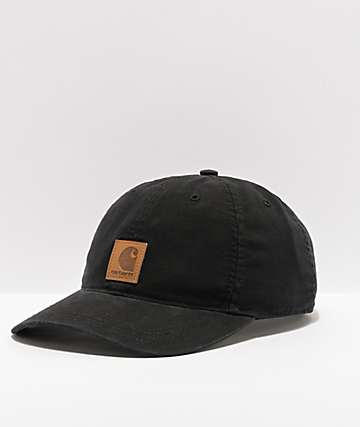 official photos b27cc b09ce Carhartt Odessa Black Strapback Hat