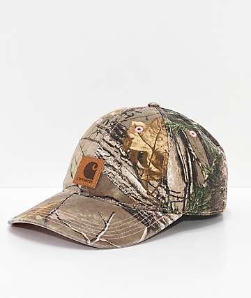 Carhartt Odessa Camo Strapback Hat