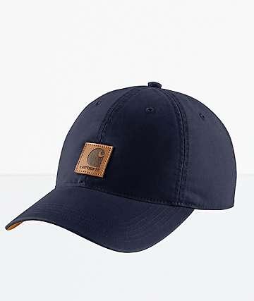 Carhartt Odessa Dark Indigo Strapback Hat