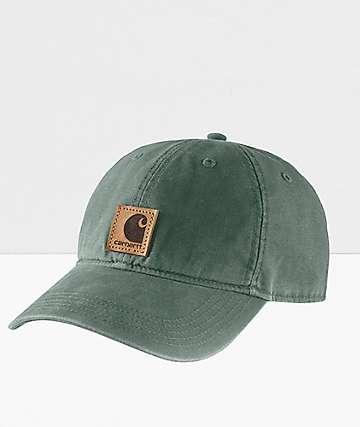 Carhartt Odessa Duck Green Strapback Hat