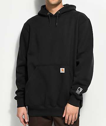 Carhartt Paxton Rain Defender Heavyweight Black Hoodie