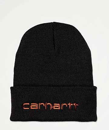 Carhartt Teller Black Beanie