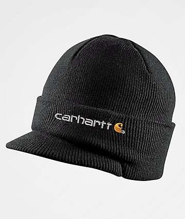 Carhartt Visor Black Beanie