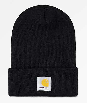 Carhartt Watch Black Beanie 30a7825764b