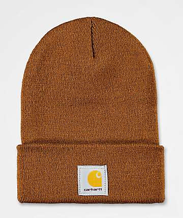 881bd17d Carhartt Watch Brown Beanie