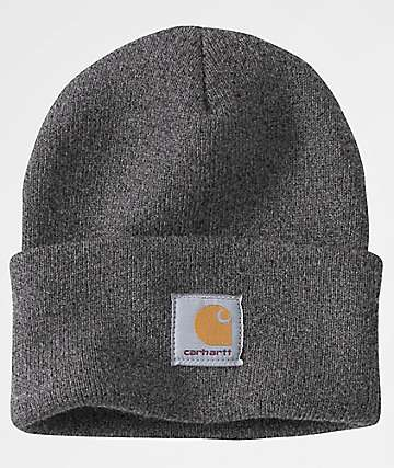 7d9c7c3f15c9b Carhartt Watch Coal Heather Beanie