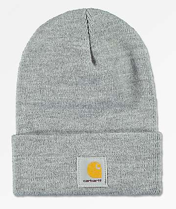 Carhartt Watch Heather Grey Beanie 816f6e8b83b