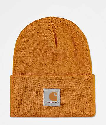 Carhartt Watch Hunter Gold Fold Beanie 26ec477c65a