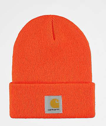 Carhartt Watch Orange Beanie