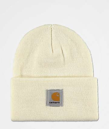 2677e8e3983 Carhartt Watch Winter White Fold Beanie