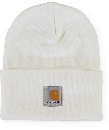 Carhartt Watch gorro blanco