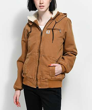 Carhartt Wildwood Brown Jacket