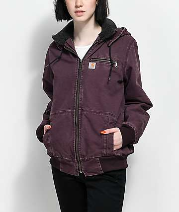 Carhartt Wildwood Dark Wine Jacket