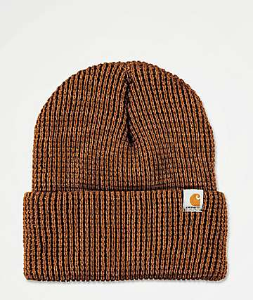 Carhartt Woodside Brown Beanie