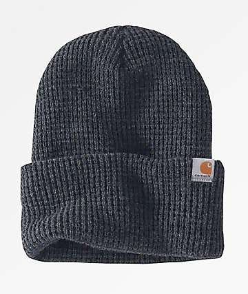 Carhartt Woodside Coal Heather Beanie