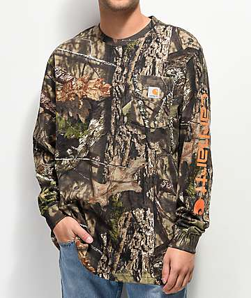 Carhartt Workwear Mossy Oak Long Sleeve T-Shirt