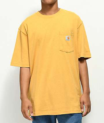 Carhartt Workwear Pocket Heather Gold T-Shirt