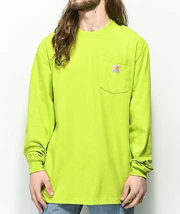 Carhartt Workwear Sour Apple camiseta de manga larga