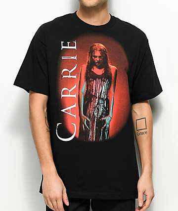 Carrie Blood Black T-Shirt