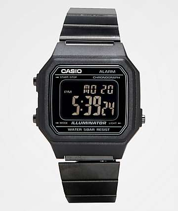 Casio B650WB-1BVT Vintage Black Digital Watch
