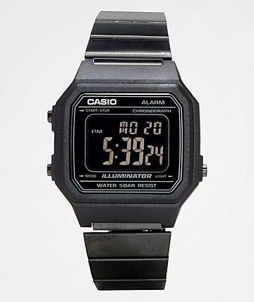 Casio B650WB-1BVT Vintage reloj digital en negro