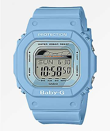 Casio BLX100 Baby-G Light Blue Digital Watch