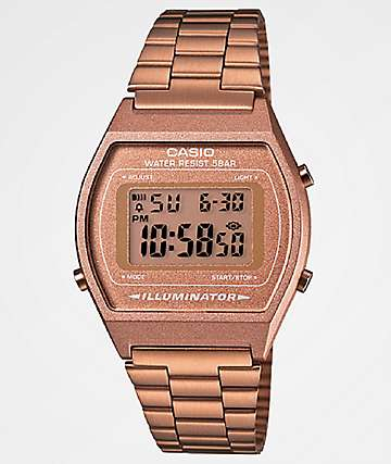 Casio Vintage Rose Gold Digital Watch
