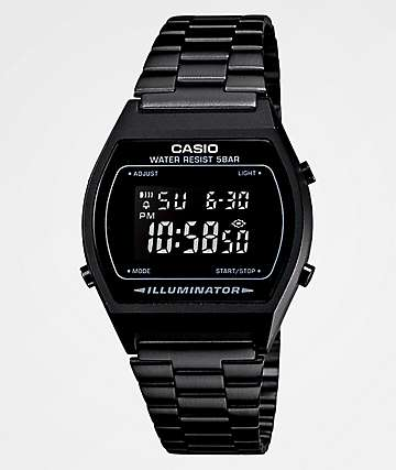 Casio Vintage reloj digital en negro