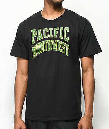 Casual Industrees Collegiate Black T-Shirt
