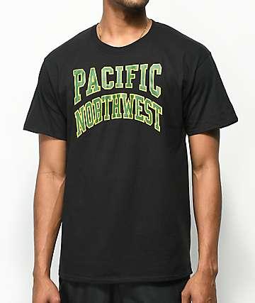 Casual Industrees Collegiate Black T-Shirt