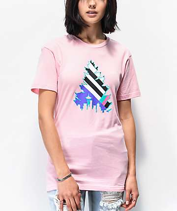 Casual Industrees Johnny Tree Pink T-Shirt