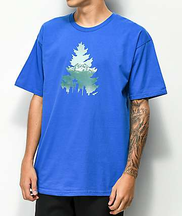 Casual Industrees Johnny Tree Rainer Blue T-Shirt