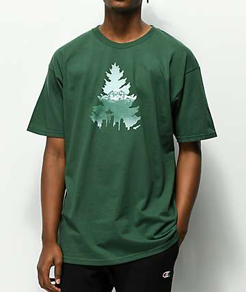Casual Industrees Johnny Tree Rainier Green T-Shirt