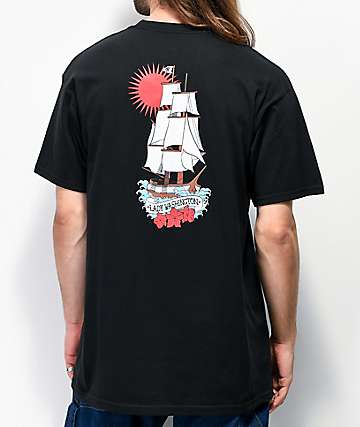 Casual Industrees Lady Washington Black T-Shirt
