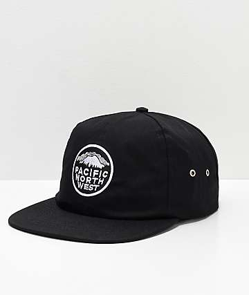 Casual Industrees PNW Black Snapback Hat