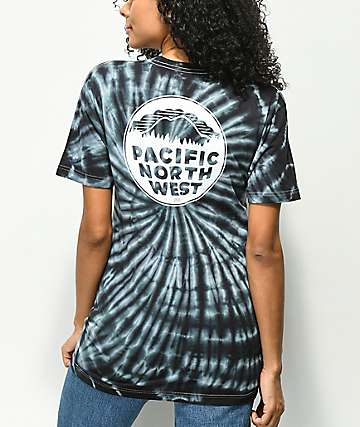 Casual Industrees PNW Blue Tie Dye T-Shirt