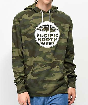 Casual Industrees PNW Camo Hoodie