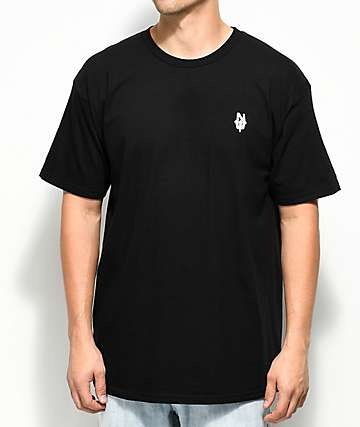 Casual Industrees PNW N. Dub Embroidered Black T-Shirt