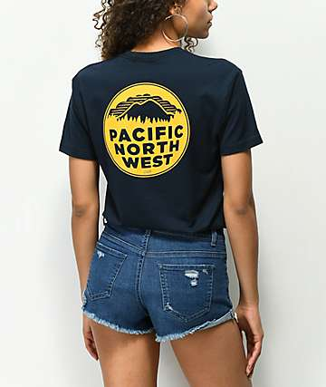 Casual Industrees PNW Navy Blue T-Shirt