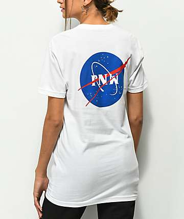 Casual Industrees PNW Space White T-Shirt